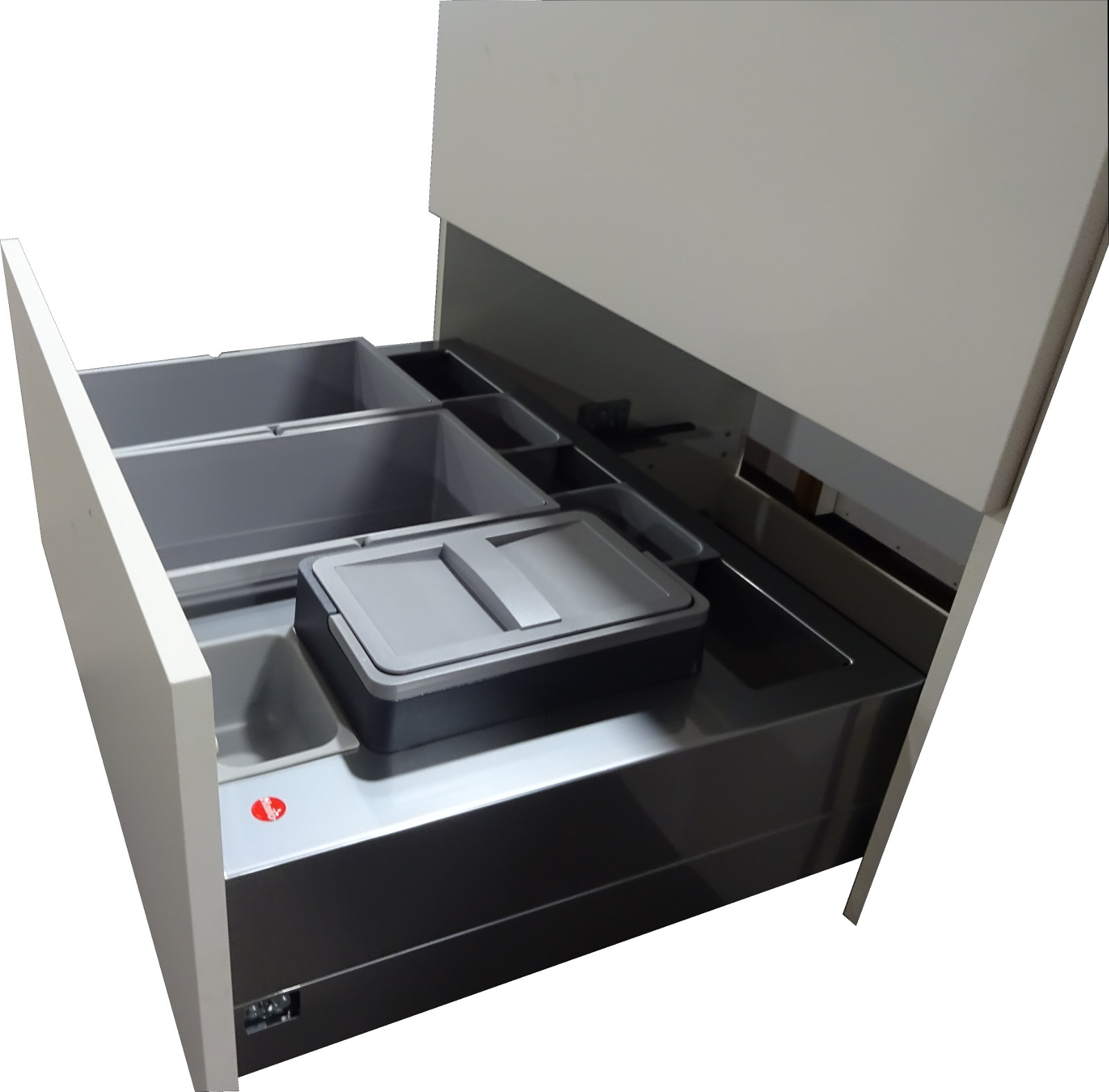 hailo m lltrennung separato 3612 87 m lleimer abfallsammler auszug k che ebay. Black Bedroom Furniture Sets. Home Design Ideas