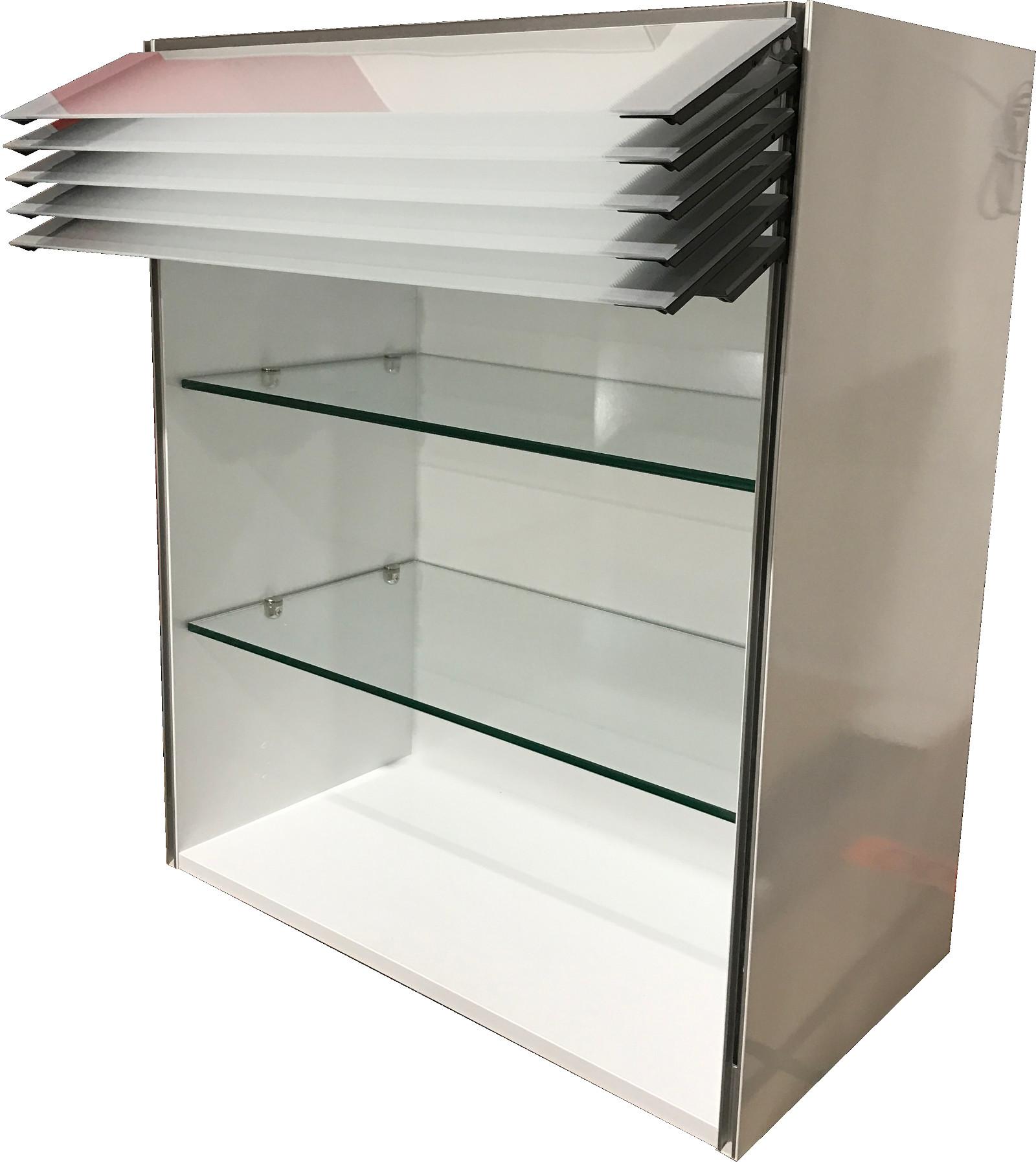 h ngeschrank k chenschrank k che elektronisch wandschrank climber mattglas ebay. Black Bedroom Furniture Sets. Home Design Ideas
