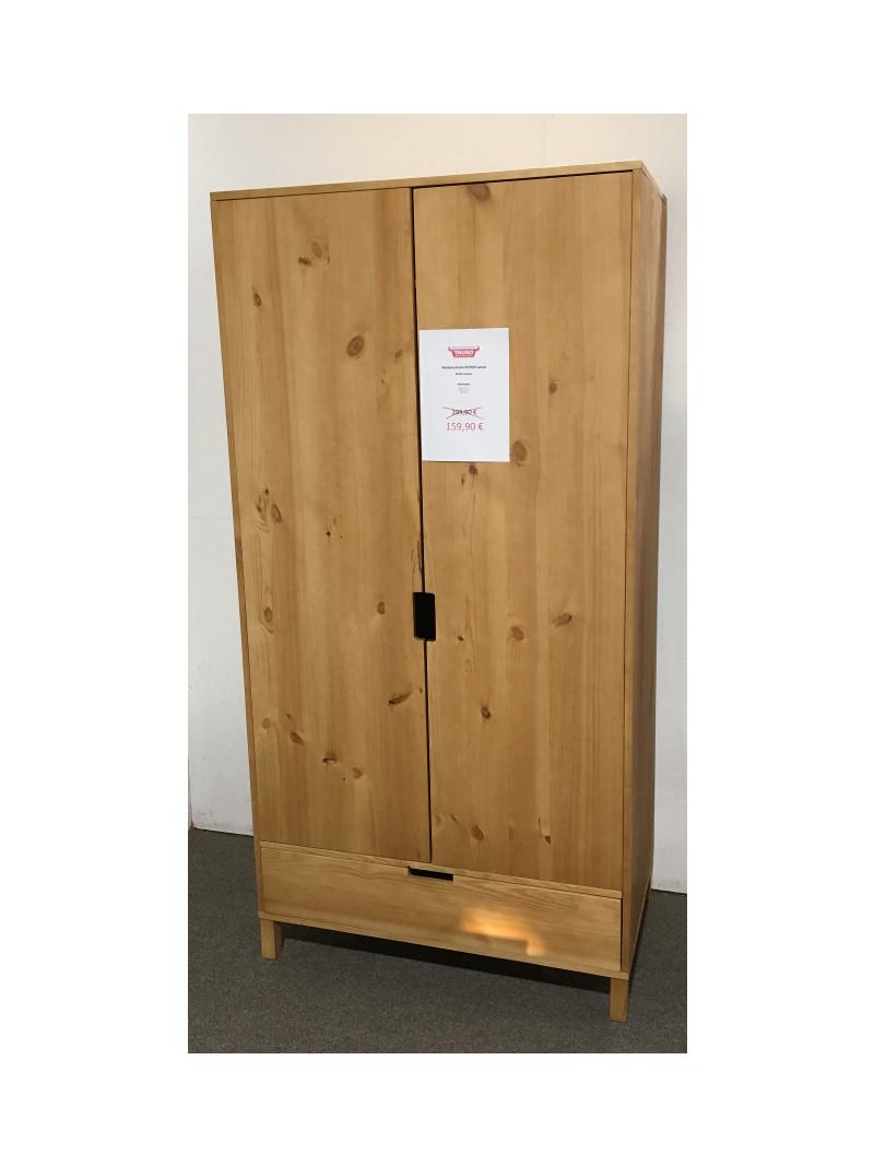 Kleiderschrank  KiYDOO wood - Kiefer massiv Schrank Garderobe Holz Skandi