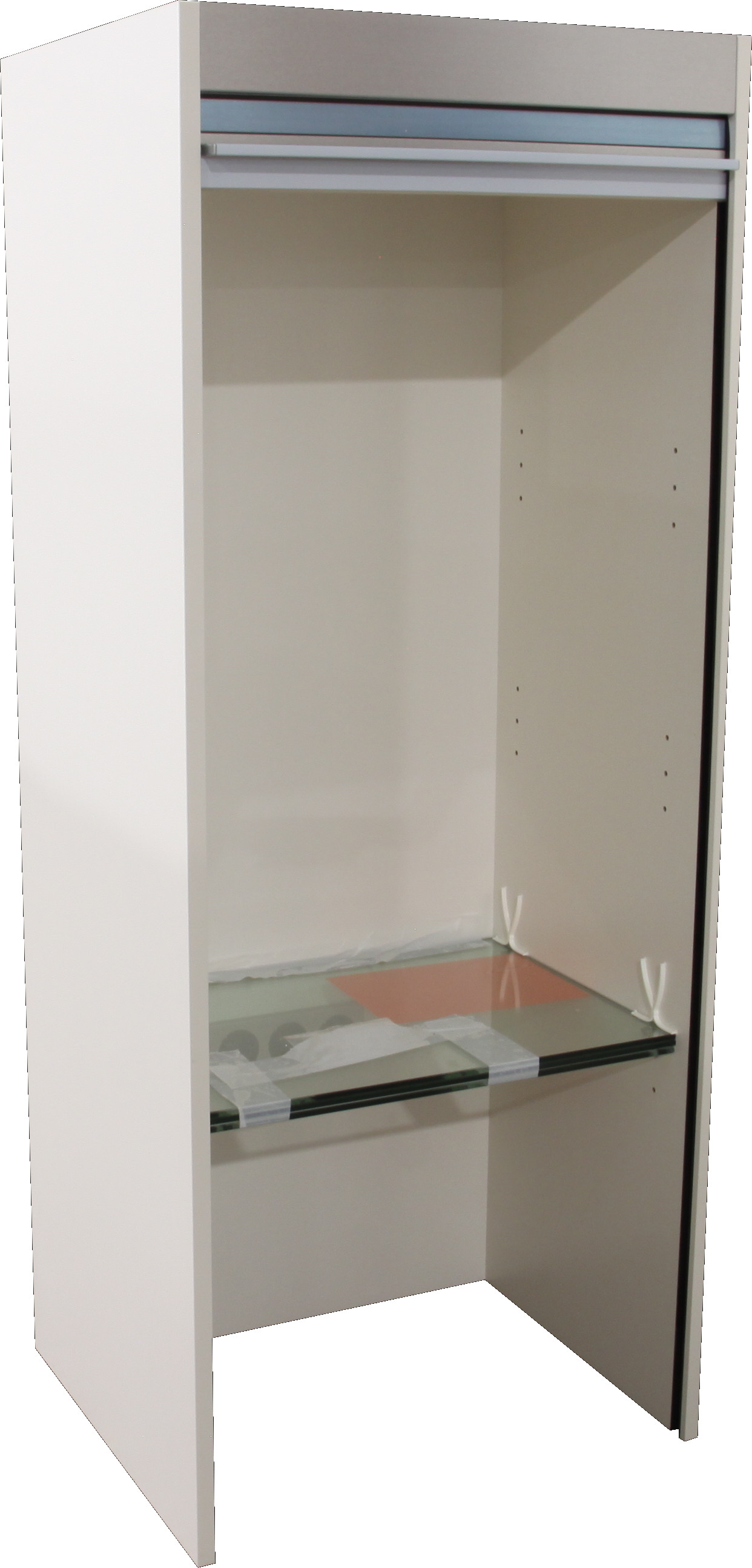 jalousieschrank k che rollladenschrank aufsatz ausstellungsst ck magnolia matt ebay. Black Bedroom Furniture Sets. Home Design Ideas