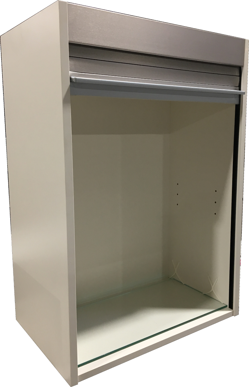 jalousieschrank h ngeschrank k che rollladenschrank magnolia matt edelstahl. Black Bedroom Furniture Sets. Home Design Ideas